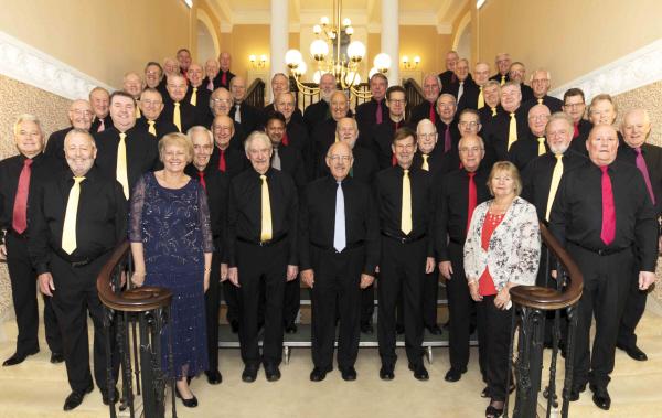 Choir in Black Shirts
