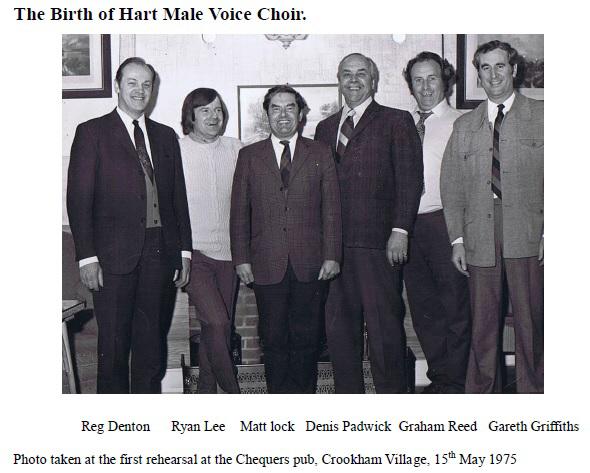 HMVC 1st Rehearsal 15th May 1975