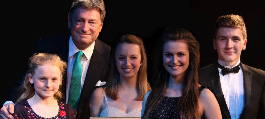 Four Hart MVC Young Singer Competition 2014 Prize-Winners with Alan Titchmarsh Final 4